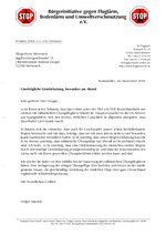 Brief an Andreas Hoppe, Fliegerhorst Nörvenich